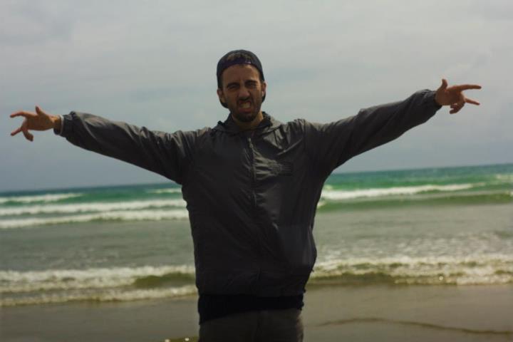 Me in Tofino, BC
