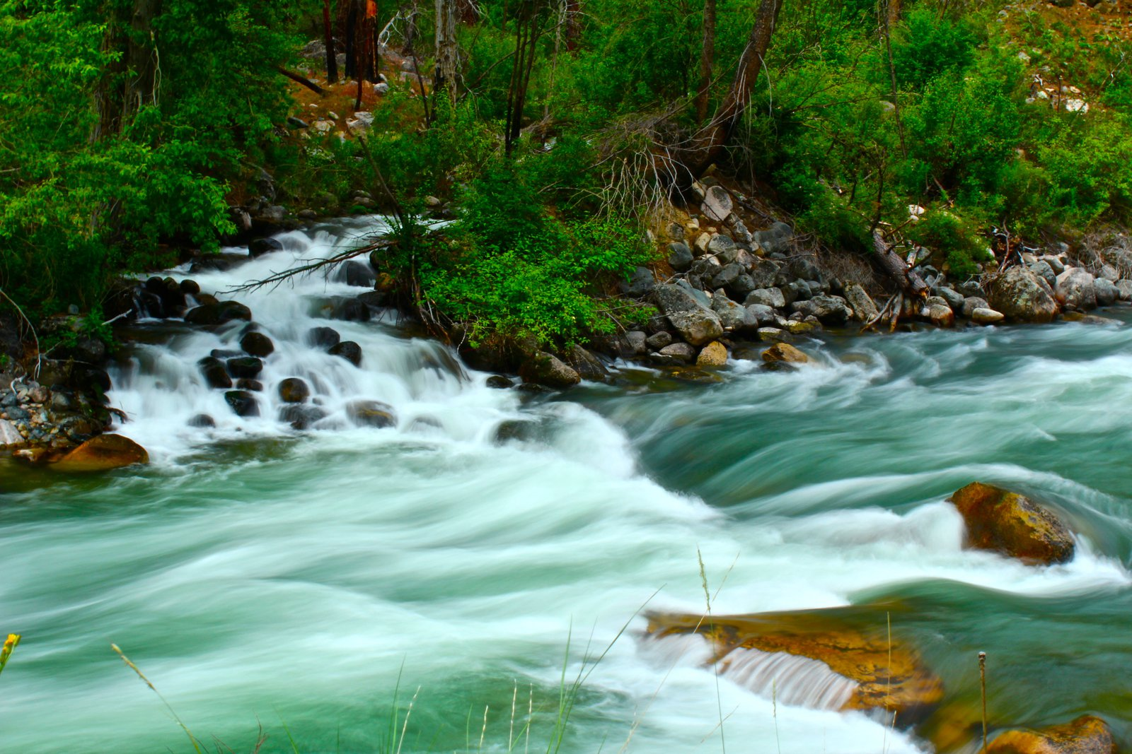Low Shutter River