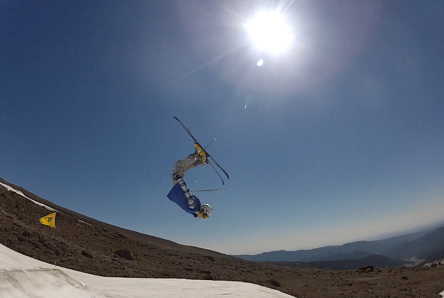 Lay Out Backflip