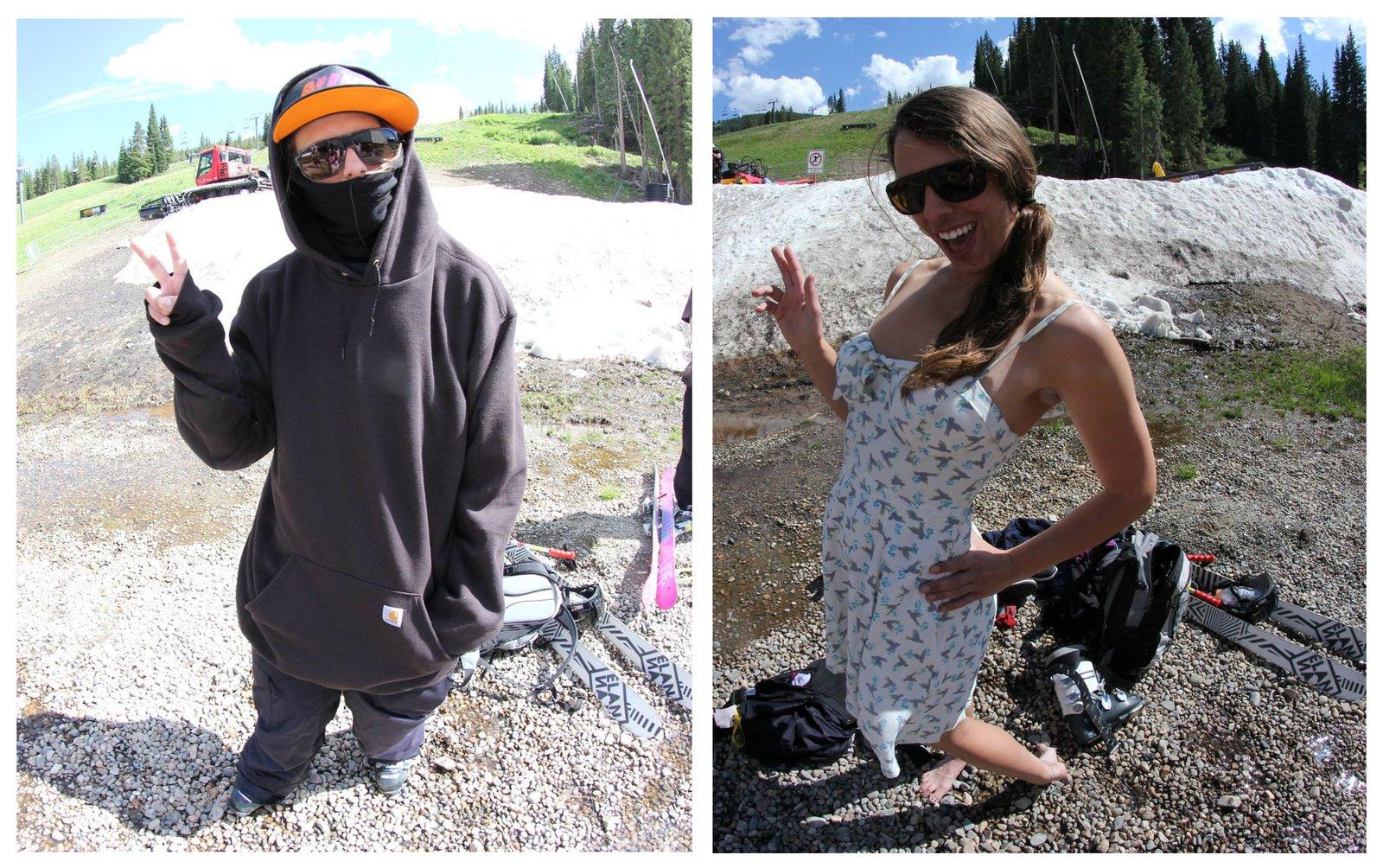 ski and post-ski apparel