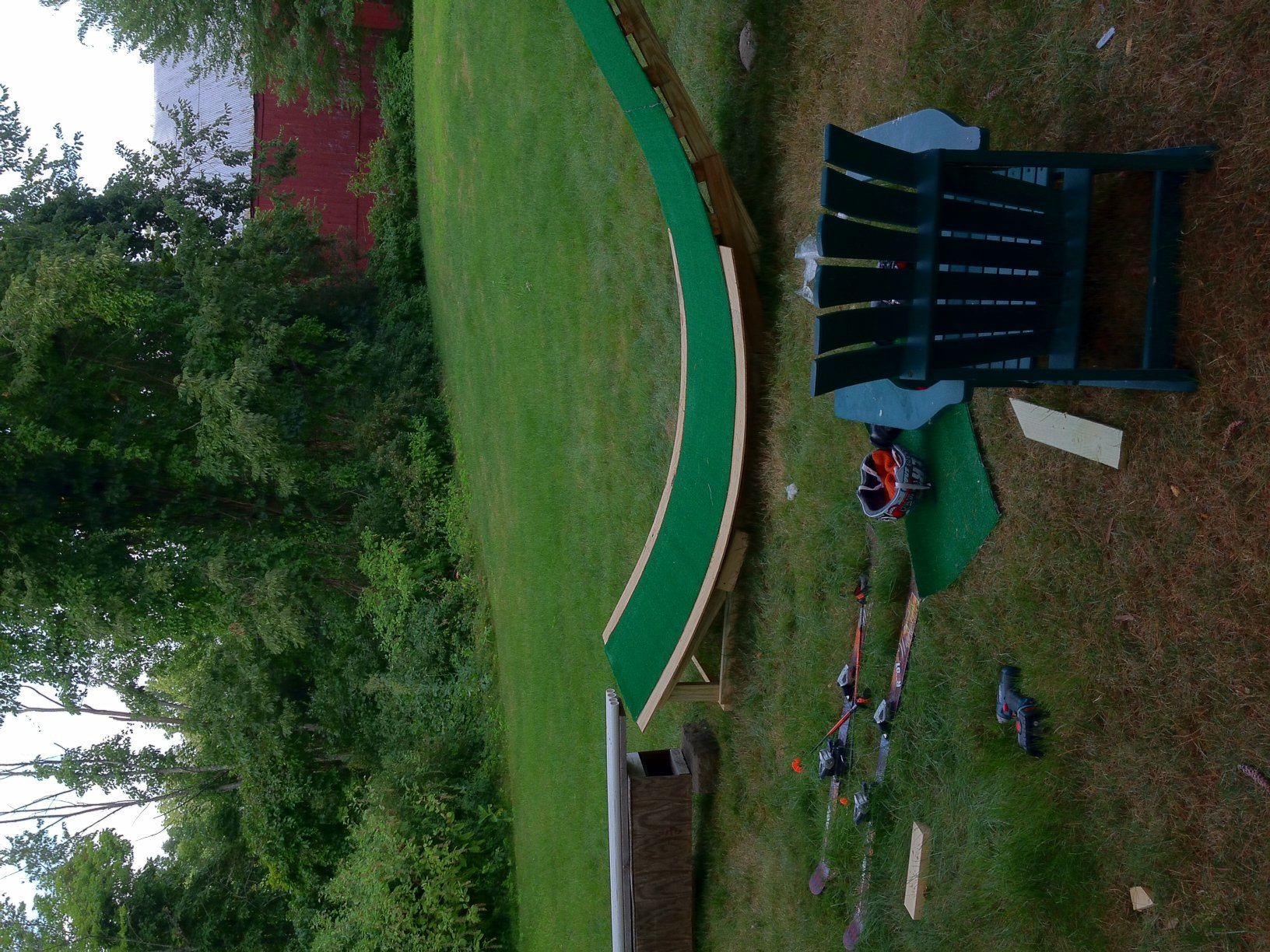 Backyard Setup