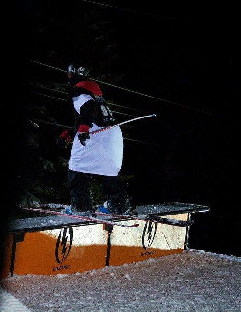 Dylan thugin at rail jam