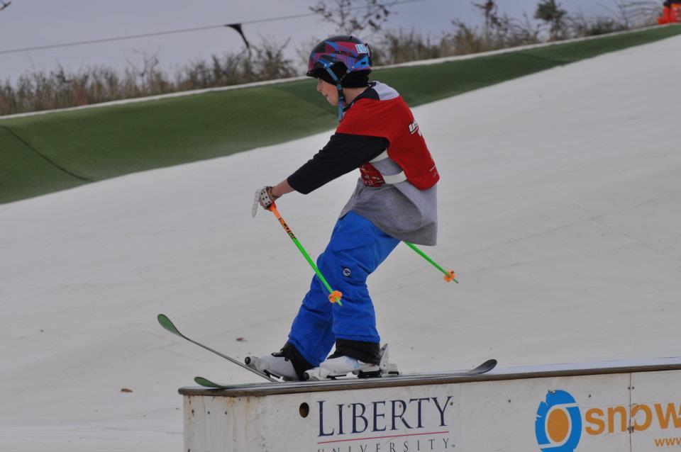 snowflex rail jam