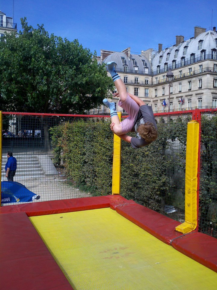 Tramp flat in paris
