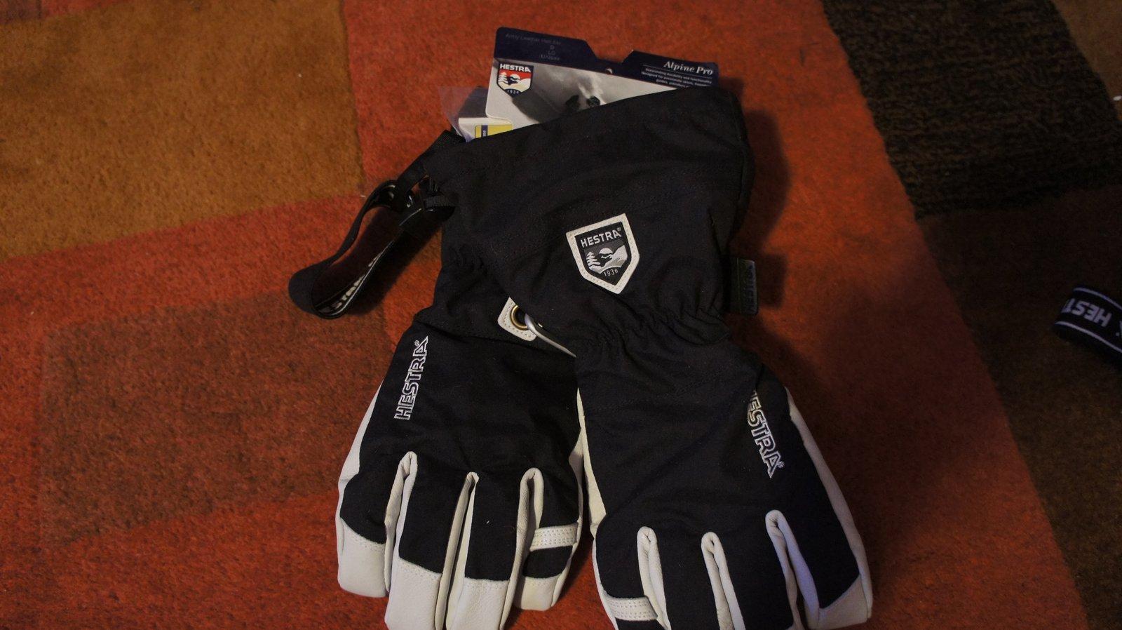 New Hestra Alpine Pro Heli Gloves