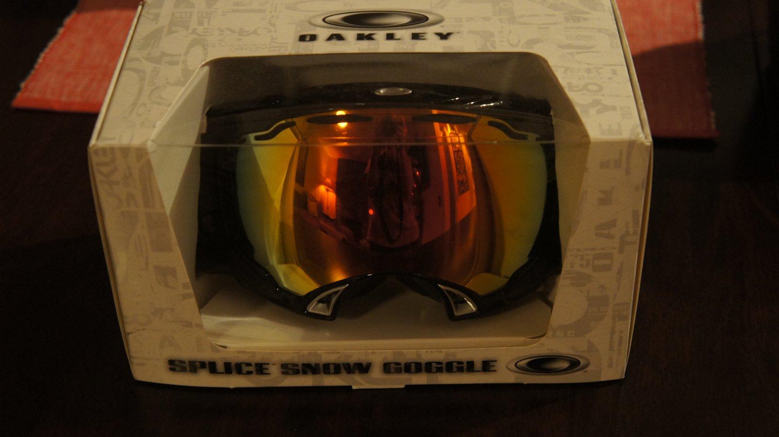 New Goggles Oakley