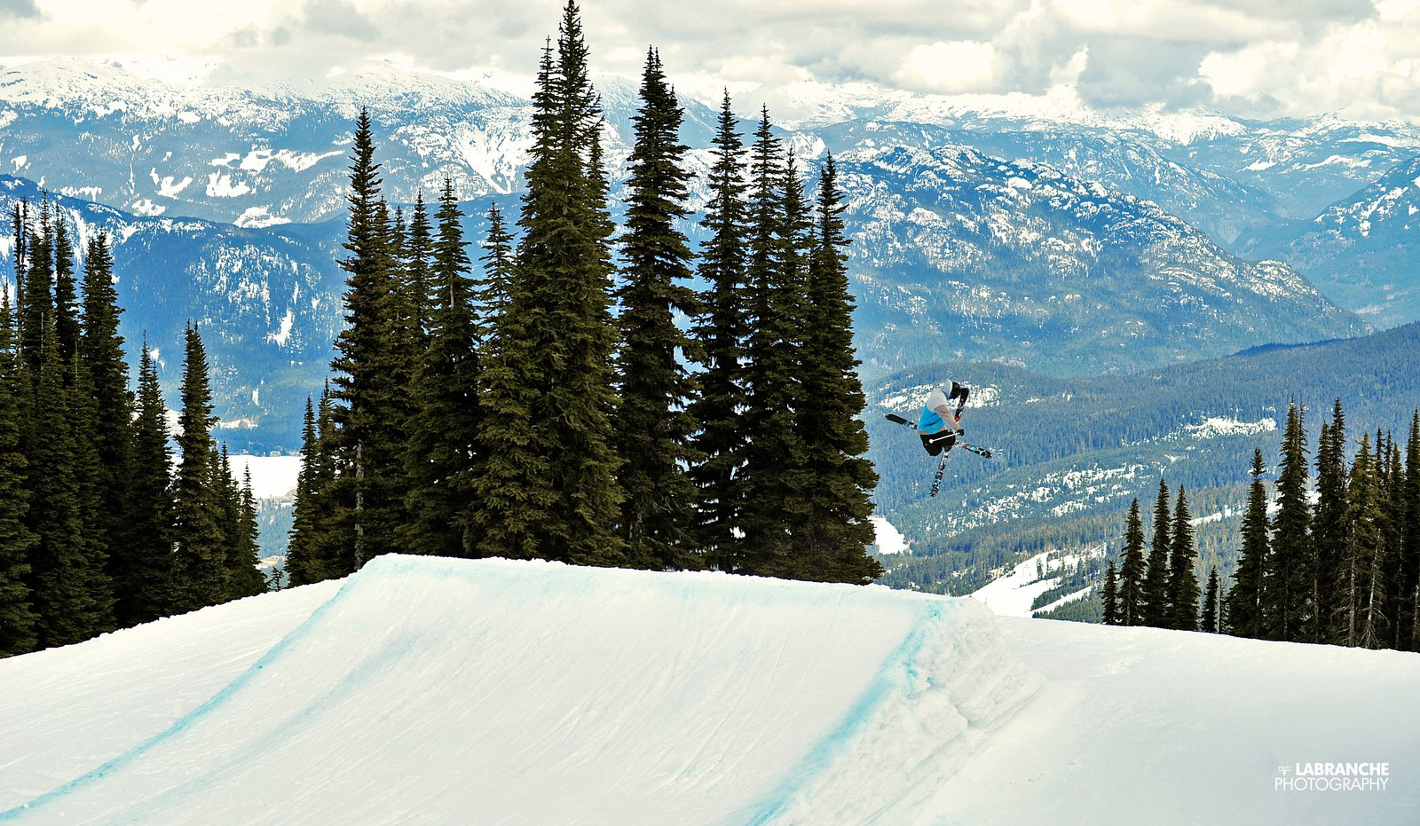 Seb Tremblay lappin in Whist park
