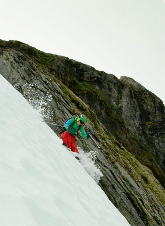 Summer skiing in Norway