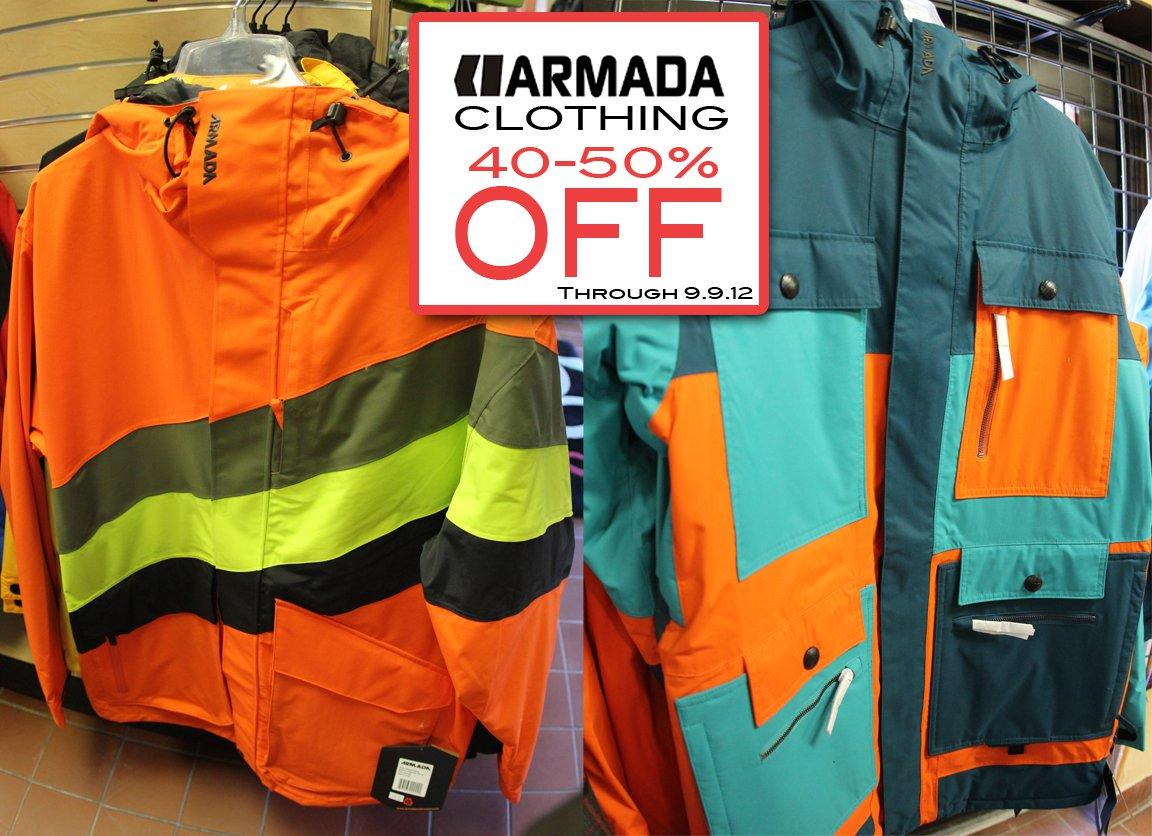 Armada Clothing Sale