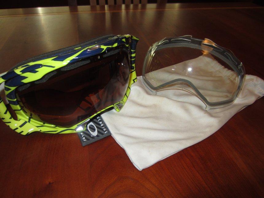 Oakley Splices W/ clear lense