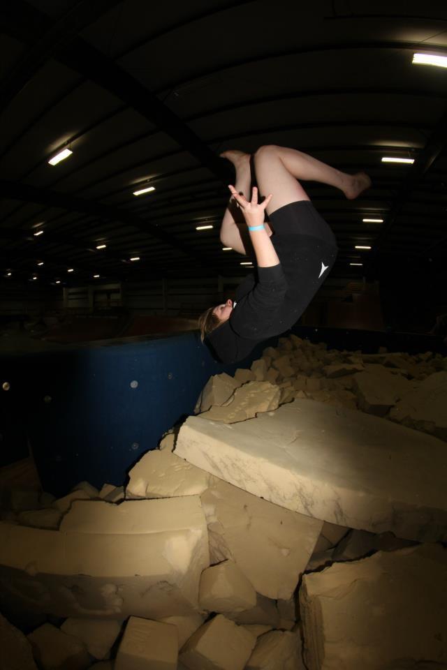 Foam Pit Flips