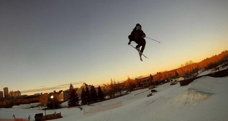 Blunt over little jump