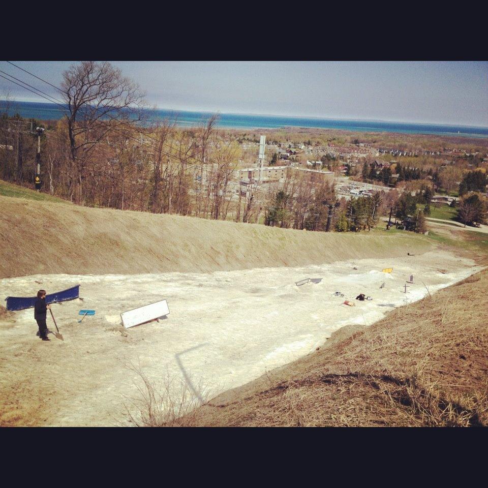 April 26 Dirt Skiing