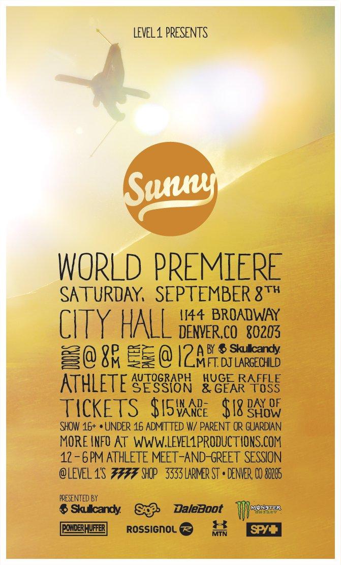 Level 1 Sunny World Premiere