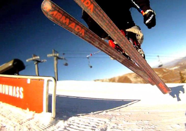 Under da ski