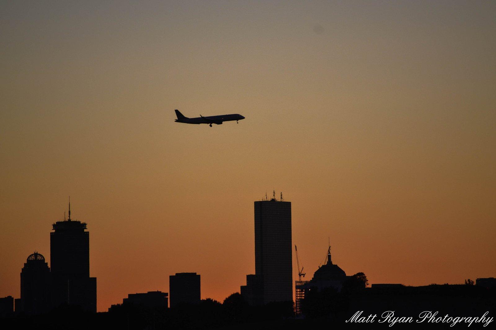 Boston Plane