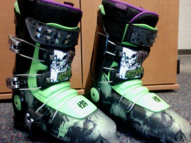 2011 Seth Morrison Ski Boots 28.5