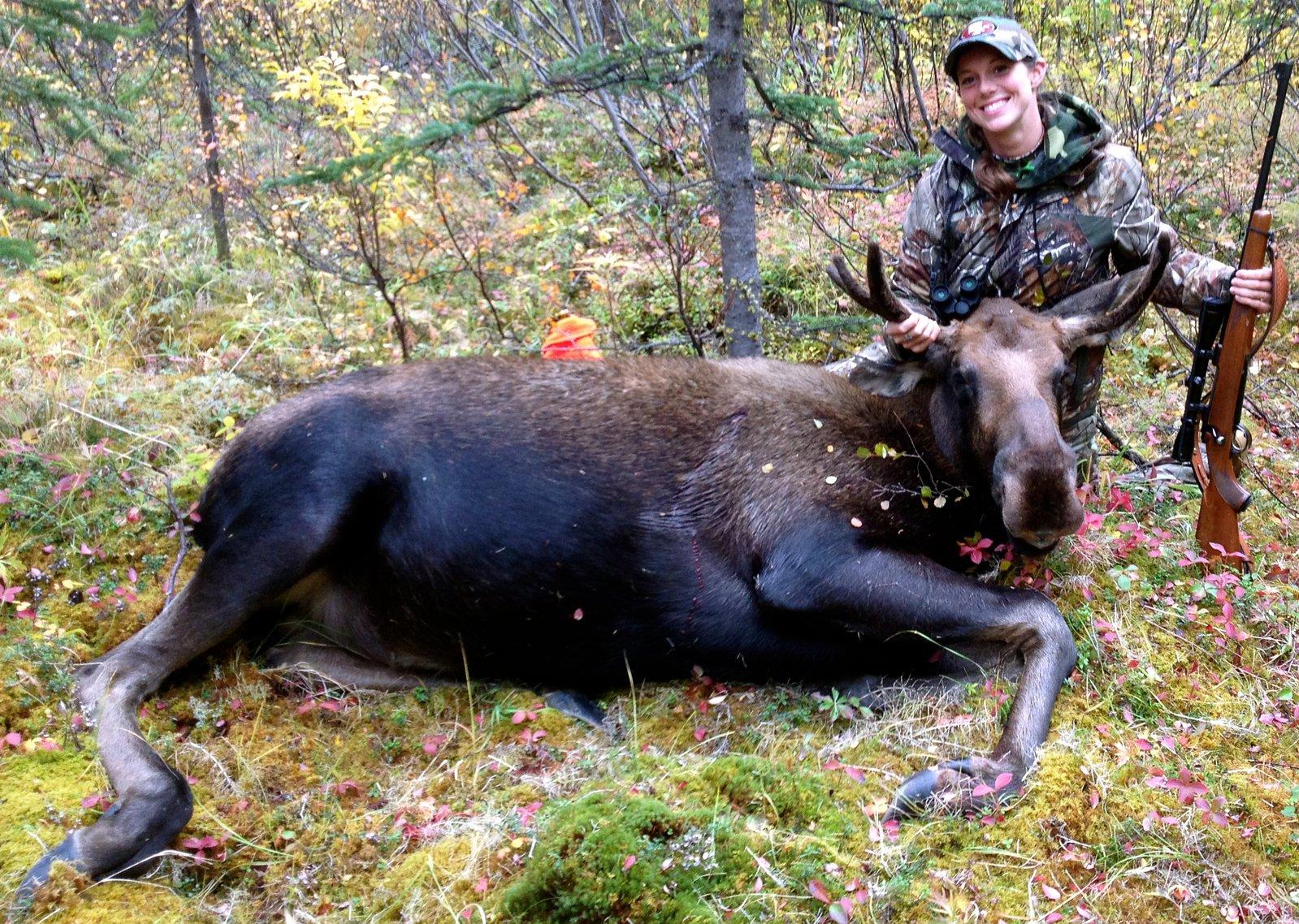 Real Alaskan Female Hunting