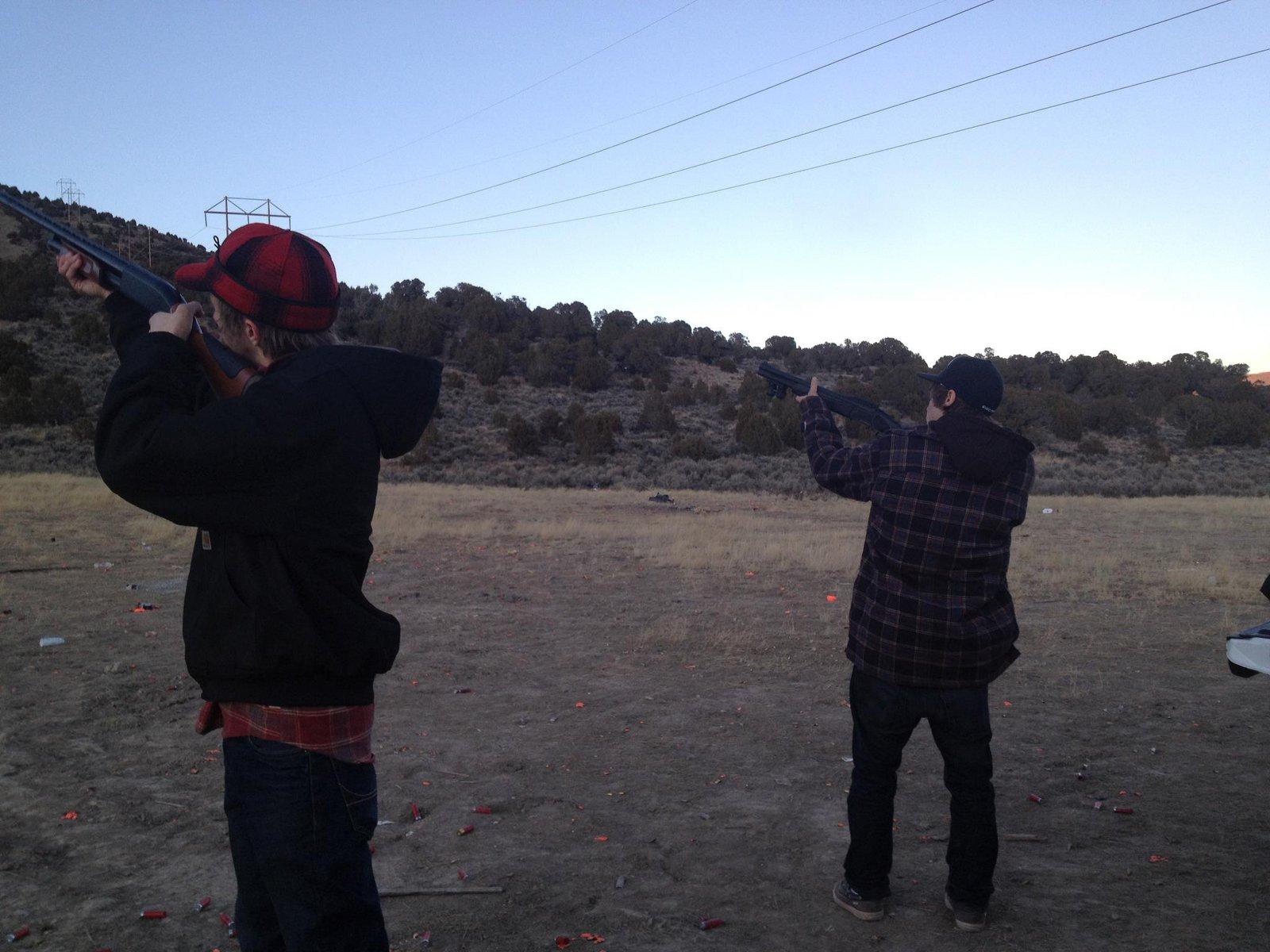 Shooting shit