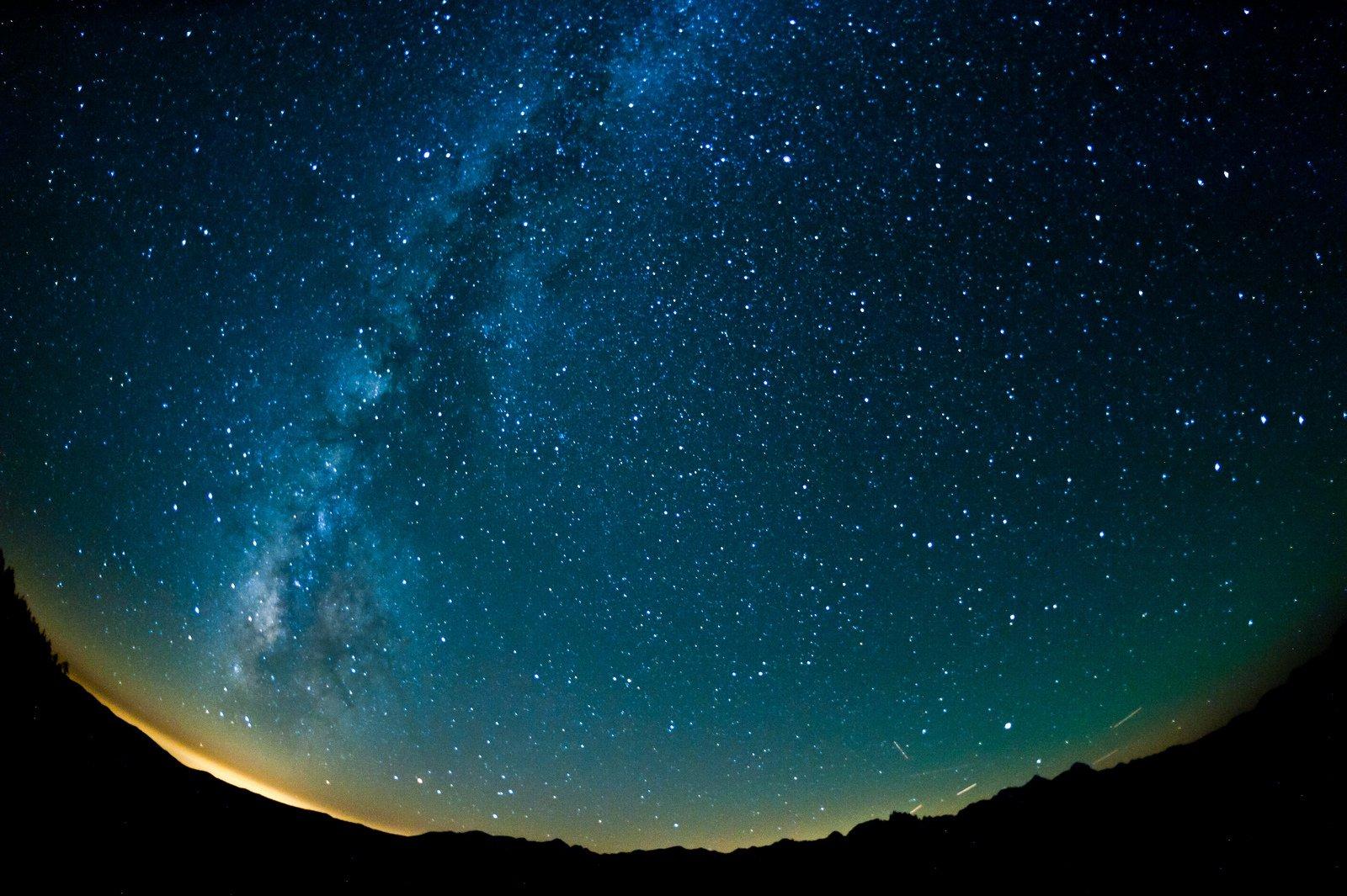 Milky Way over Mammoth