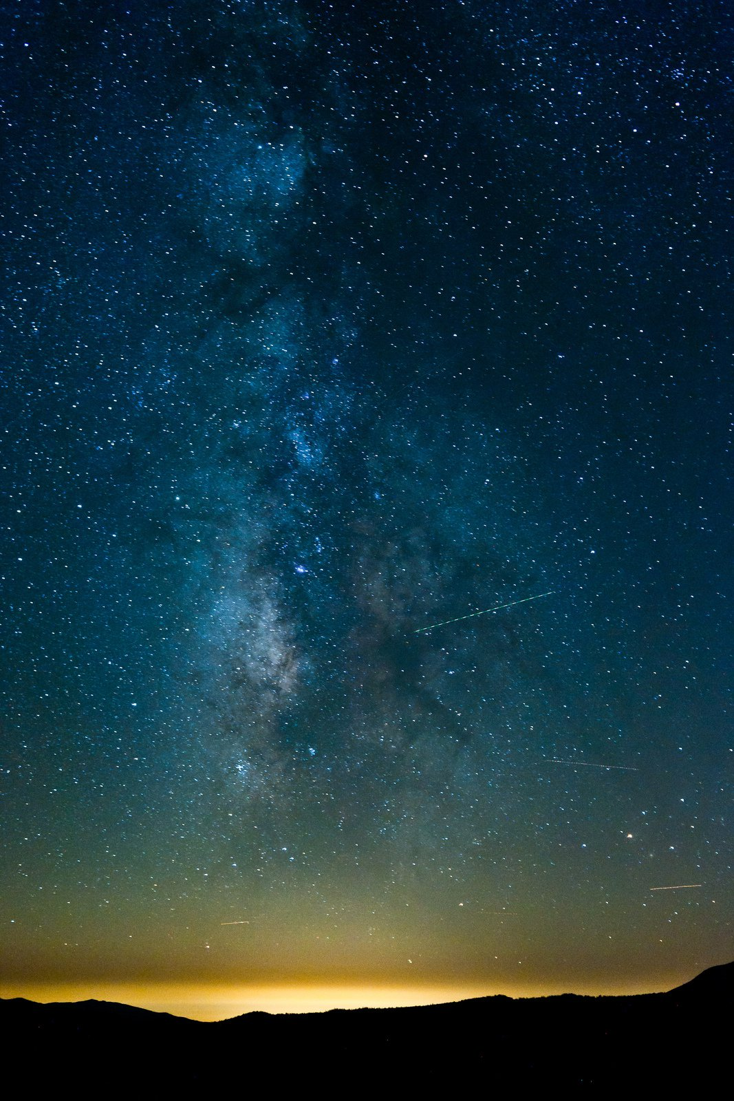 Milky Way Over Mammoth