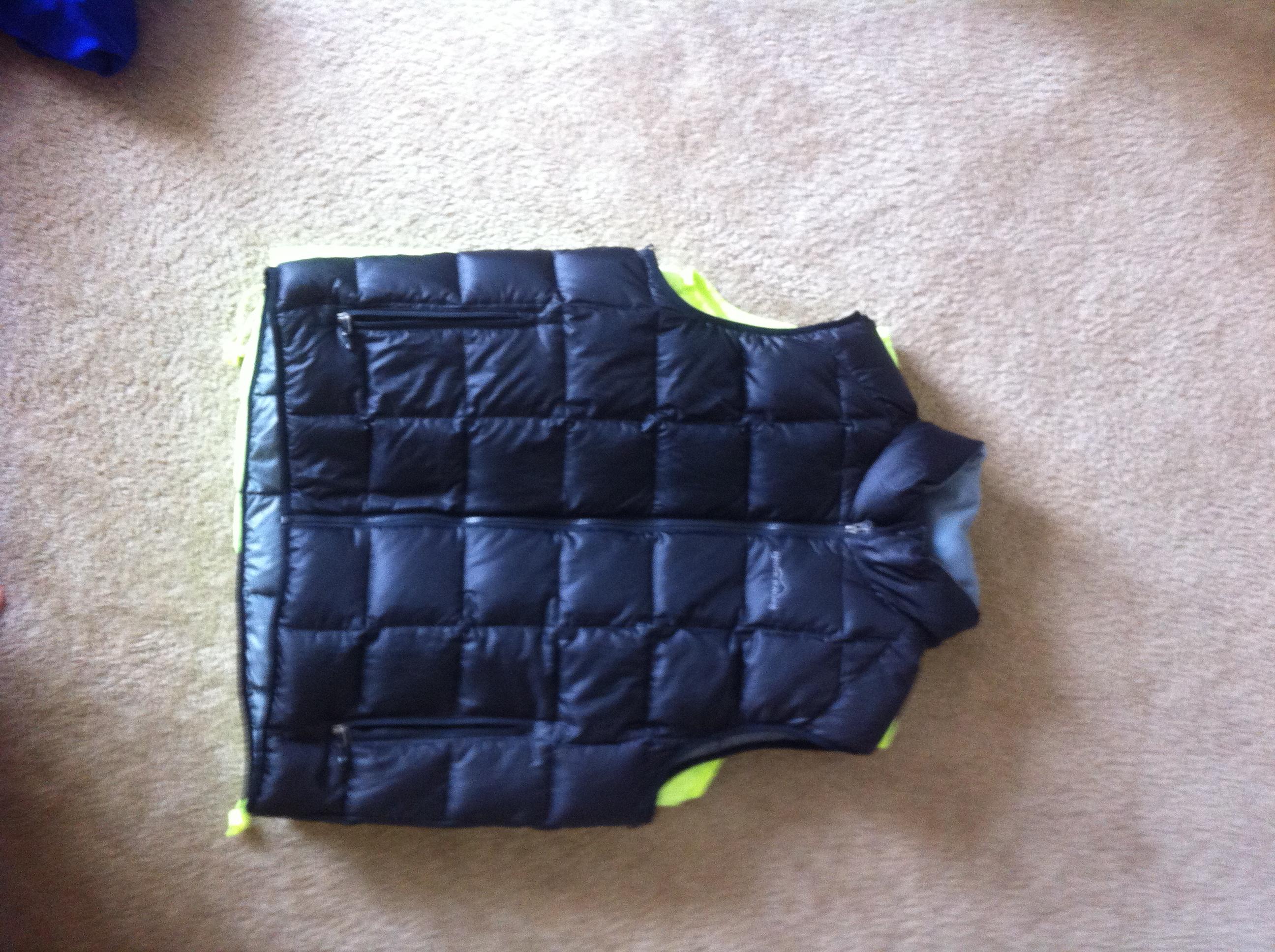 FS black puffy vest