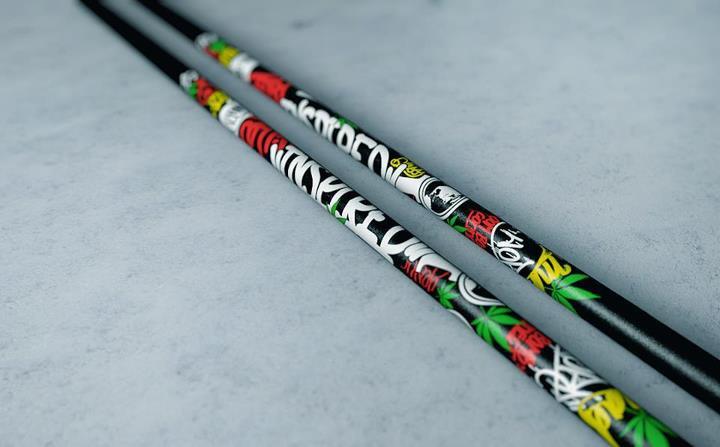 Inspired ski pole