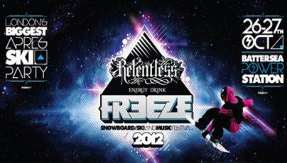 Relentless Energy Drink Freeze Festival