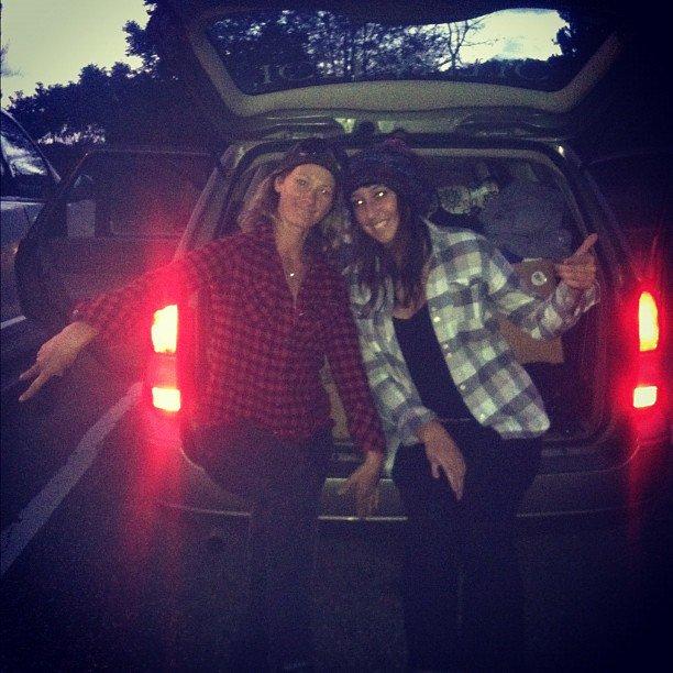 ski trip with rebecca!