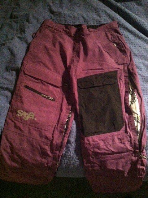 purp pants