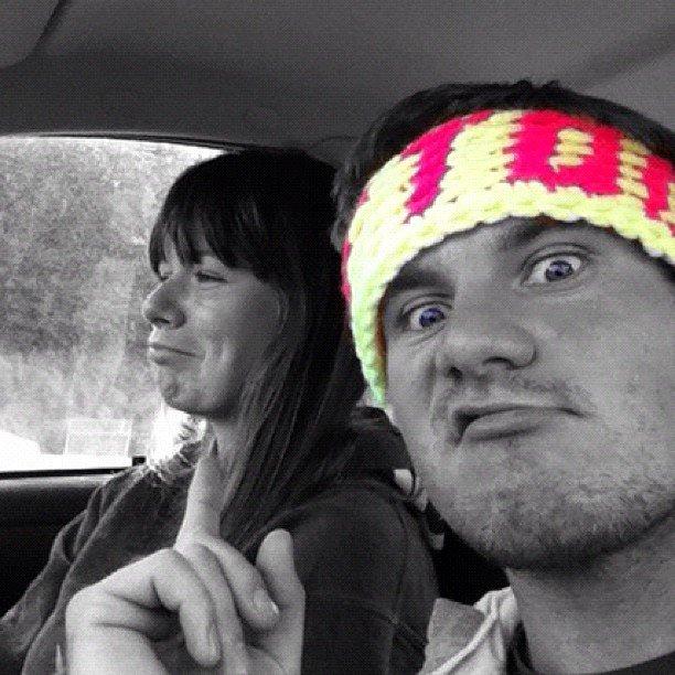 Robin Coates' I <3 TOORIE headband