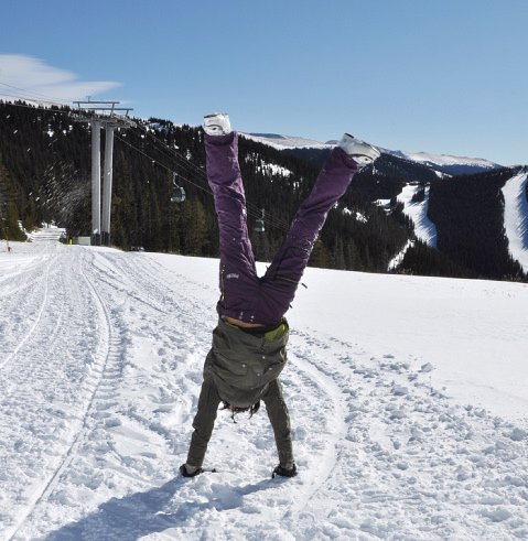 Handstand time