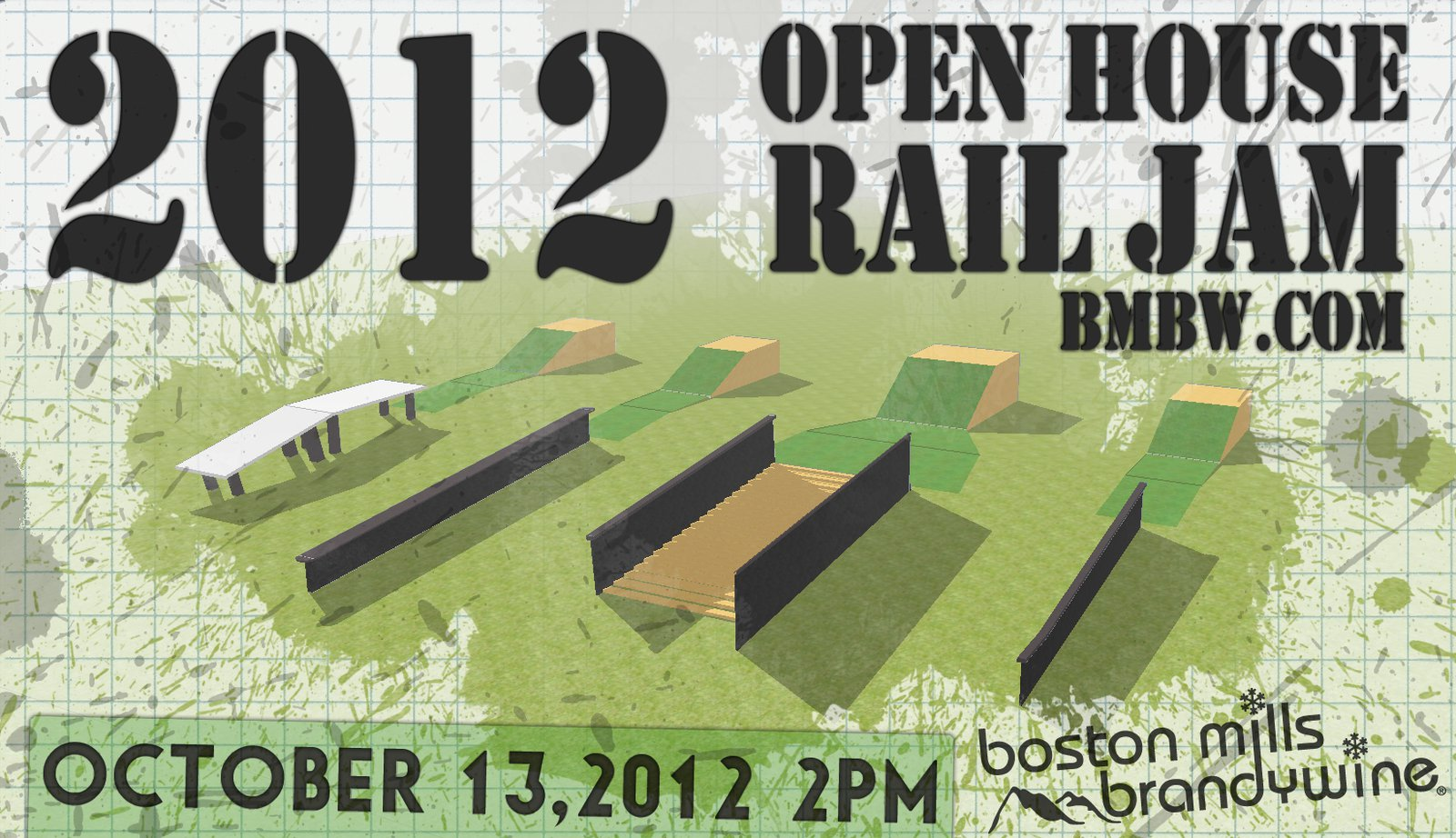 2012 BMBW Open House Rail Jam
