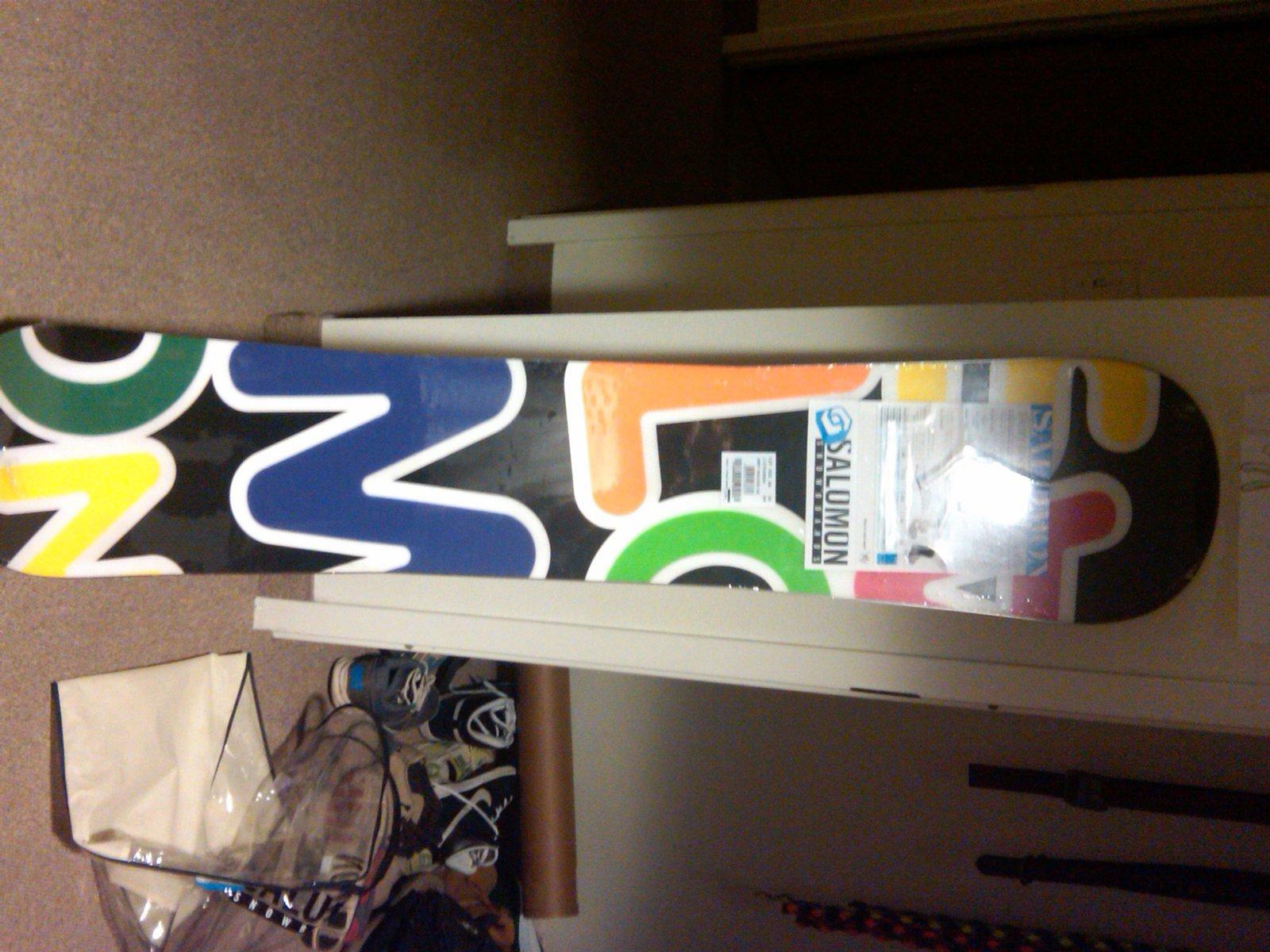 Salomon drift rocker 152 for sale