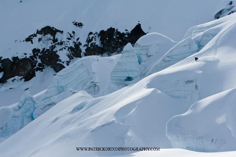 Pow Slash in Haines AK