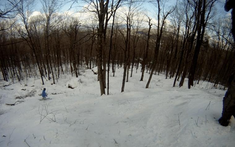 East Coast Tree Skiing