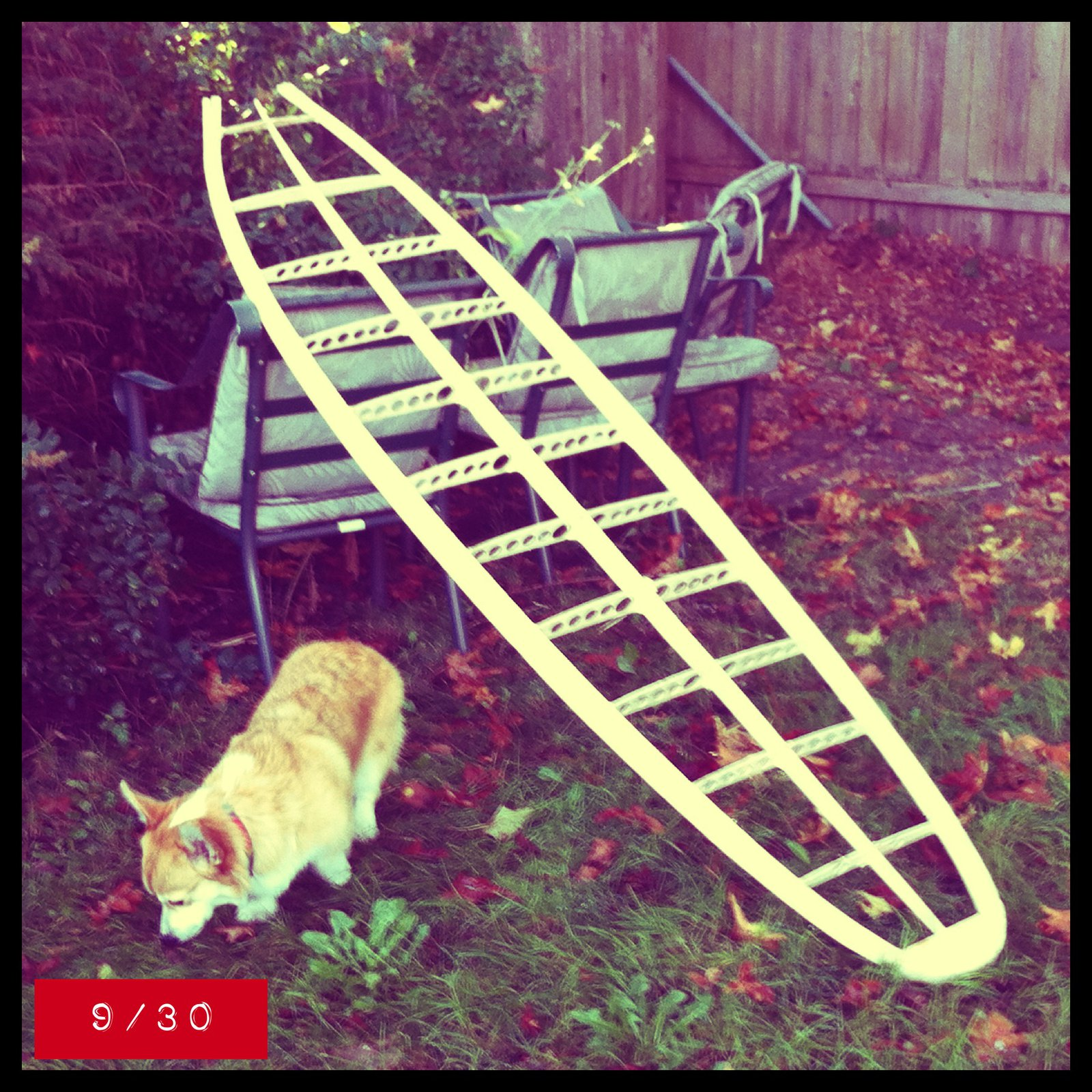 hollow wooden surfboard frame