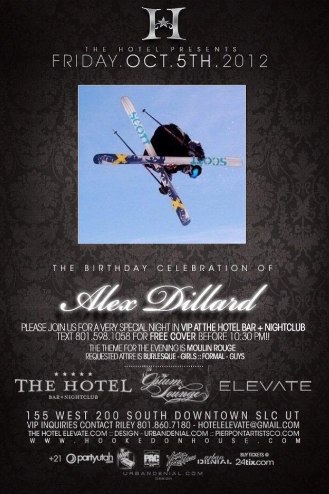 Dillard's Birthday!