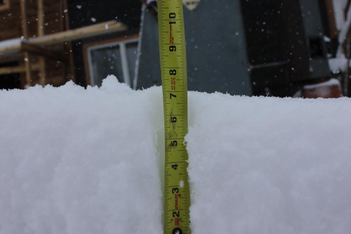 7 inches of fresh Oct2