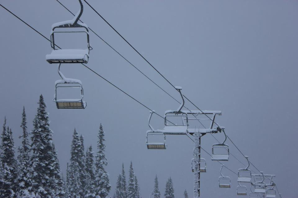 Fresh snow on the Chair oct2