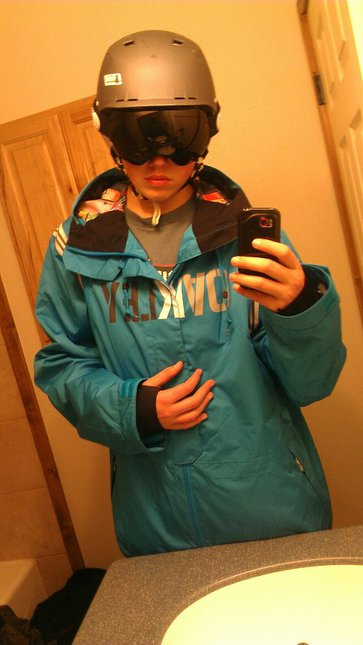 New Jacket and Goggles