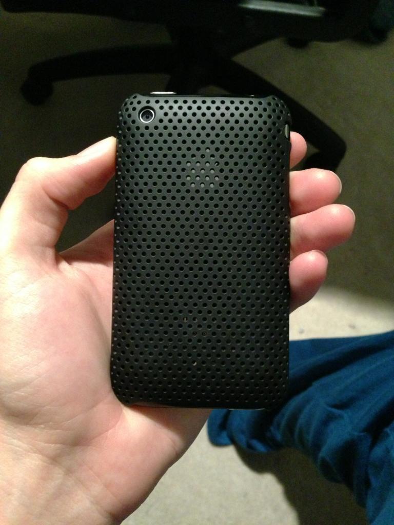 incase preforated case black