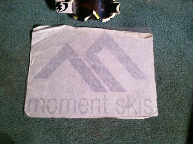 moment decal