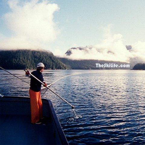 Fishing in Alaska to earn ski money