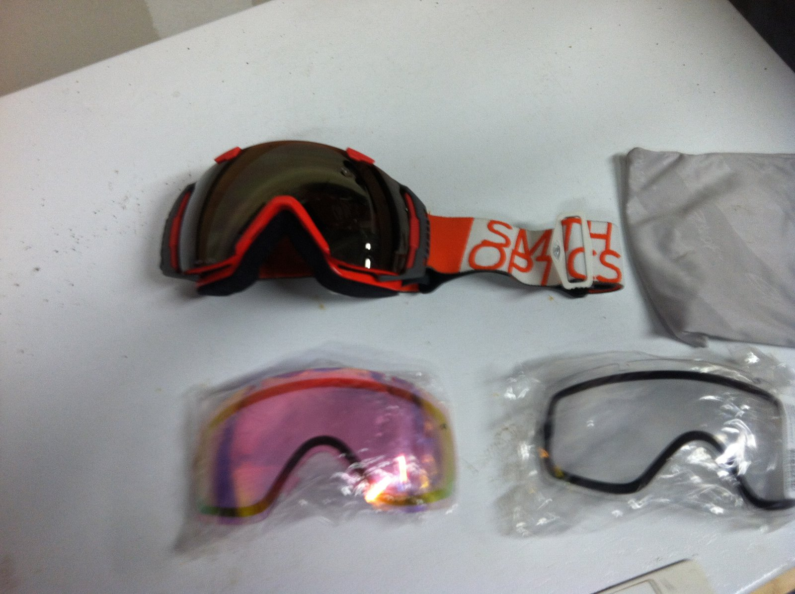 Smith I/O with 3 lenses