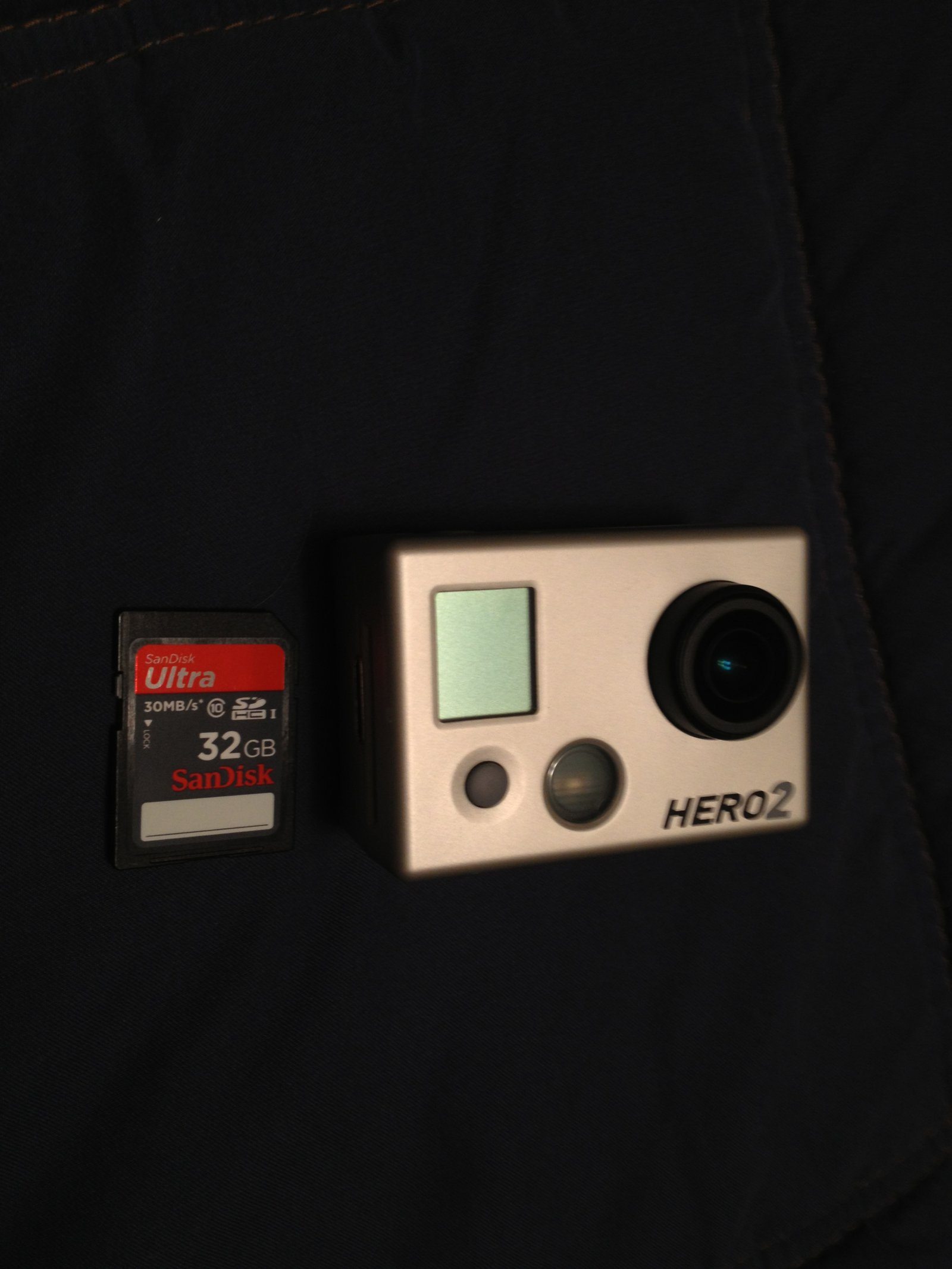 Gopro and SD card