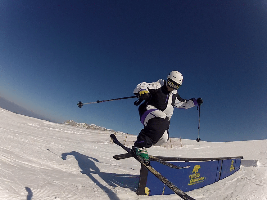Telemark sliding