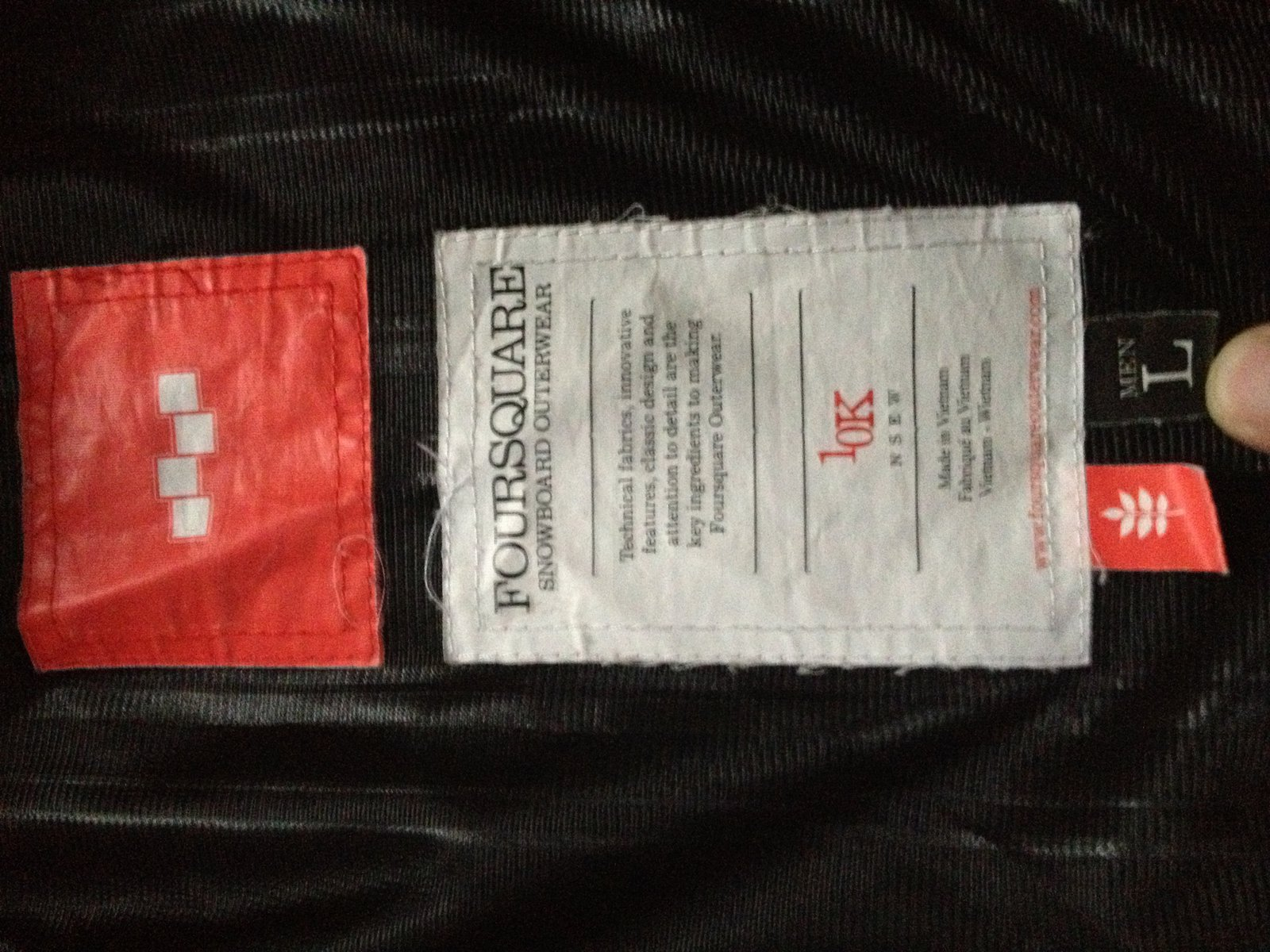 FS: Large foursquare outerwear