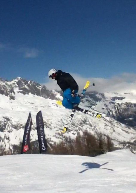 little jump in chamonix