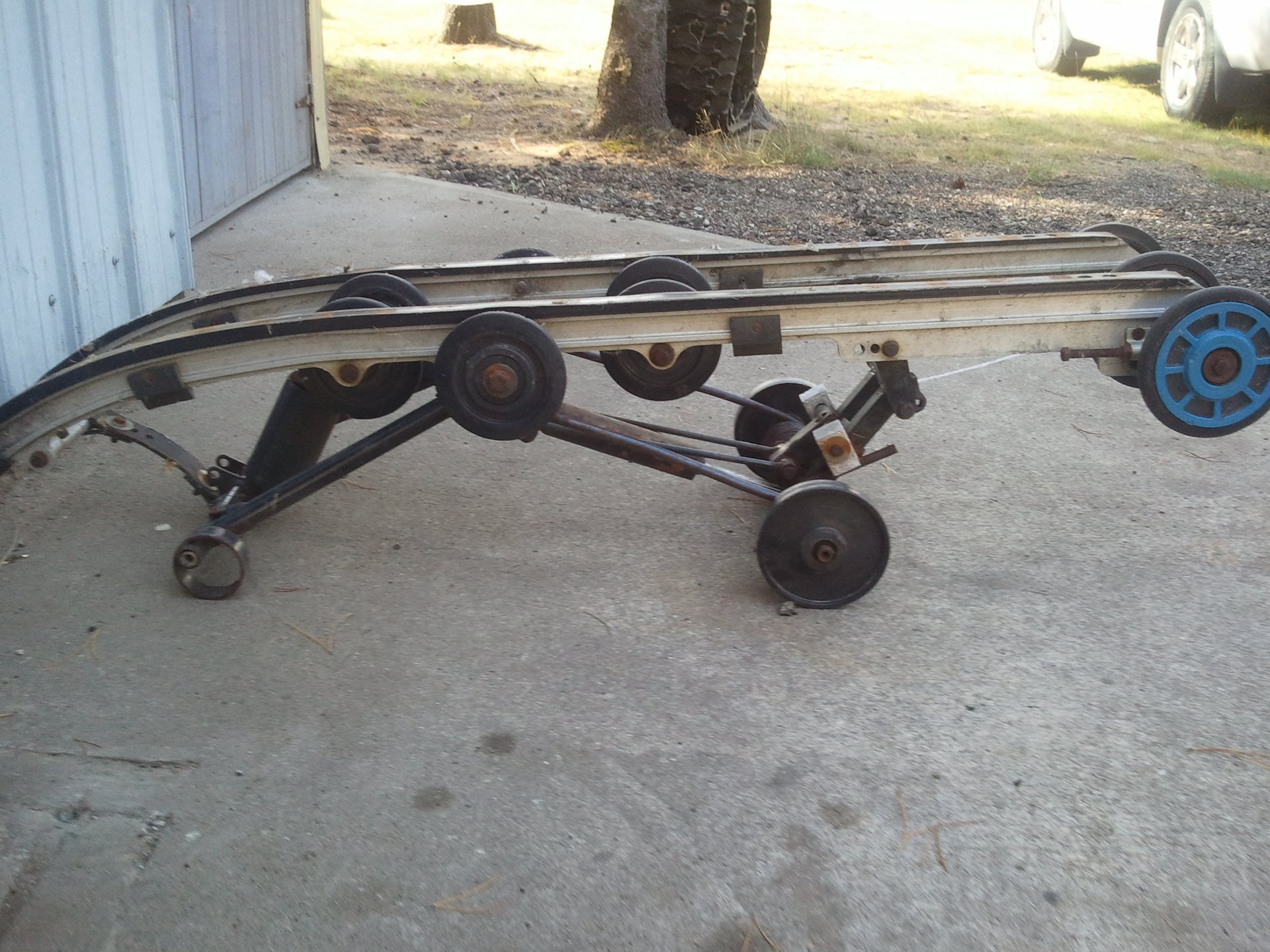 sleds & trailer for sale
